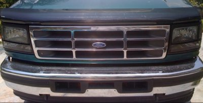 Ford F150 1992 1996 Smoked Headlights And Per Lights Set