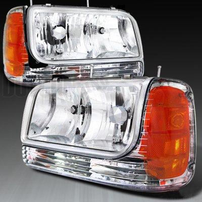 Cadillac Escalade 1999-2000 Clear Headlights and Corner Lights ...
