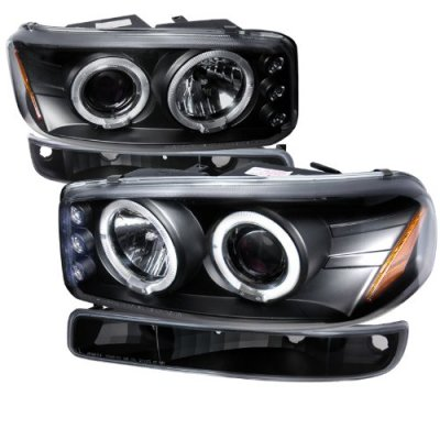 Halo Headlights Gmc Sierra 2001 Gmc Sierra Black Halo