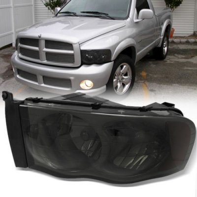 Dodge Ram 2002 2005 Smoked Headlights And Tail Lights