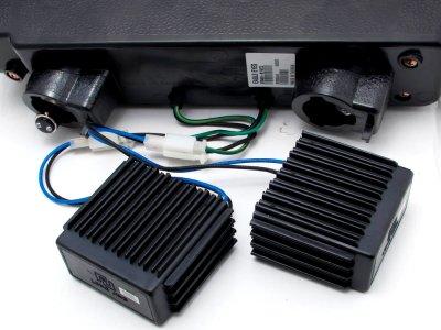 GMC Yukon 1994-1999 Black Halo Headlights and LED Bumper Lights