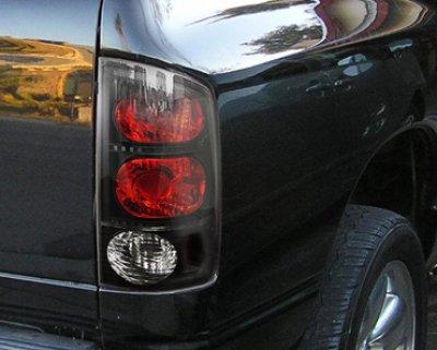 Dodge Ram 2500 2003 2005 Black Headlights And Tail Lights