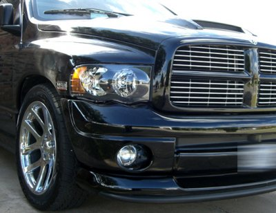 Dodge Ram 2500 2003 2005 Black Headlights And Tail Lights