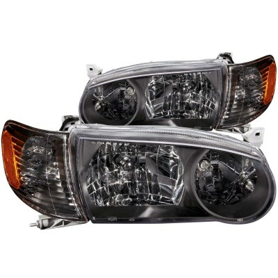 Toyota Corolla 2001 2002 Black Headlights And Corner Lights A132c42o213 Topgearautosport