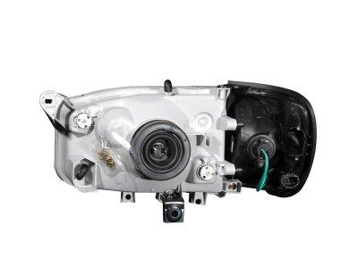 Nissan Pathfinder 2000-2004 Black Headlights and Corner Lights