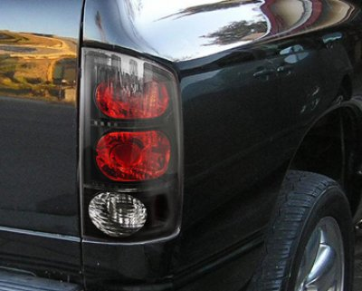 Dodge Ram 2002 2005 Black Headlights And Tail Lights