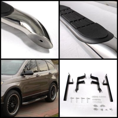 Honda CRV 2007-2011 Nerf Bars Stainless Steel