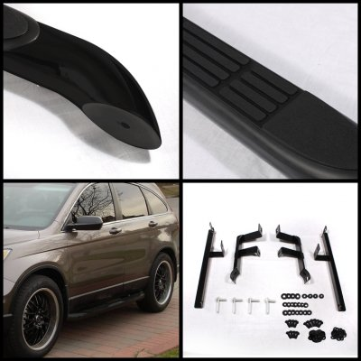 Honda CRV 2007-2011 Nerf Bars Black