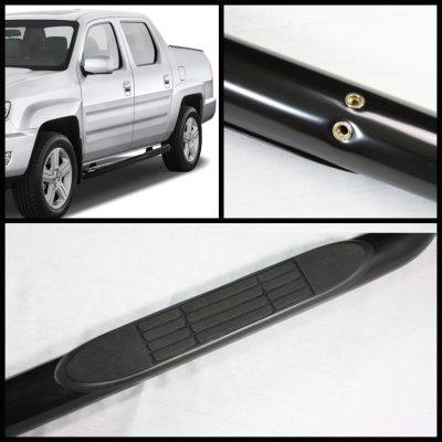Honda Ridgeline 2006-2012 Nerf Bars Black
