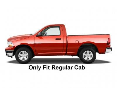 dodge ram 1500 regular cab 2009 2015 nerf bars stainless steel 3 inches - 2009 Dodge Ram 1500 Single Cab
