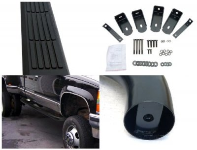 Chevy 2500 Pickup Extended Cab 1988-1998 Nerf Bars Black