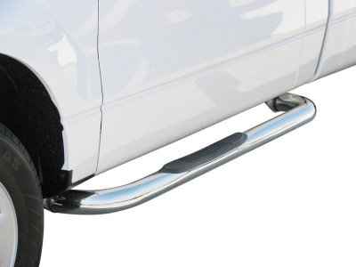 Ford F250 1980-1996 Nerf Bars Stainless Steel