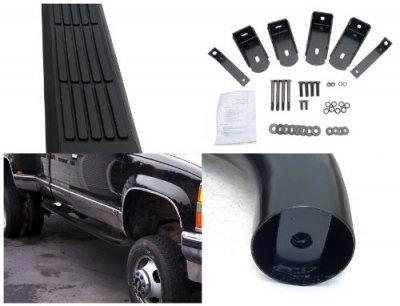 Chevy Silverado Extended Cab 1994-1998 Nerf Bars Black