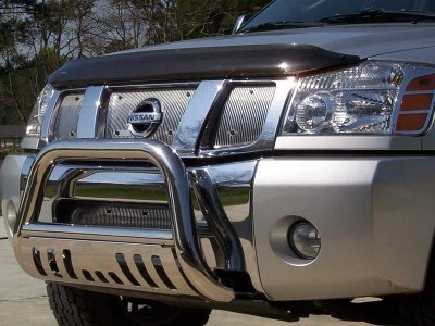 2005 Nissan Xterra Bull Bar Stainless Steel