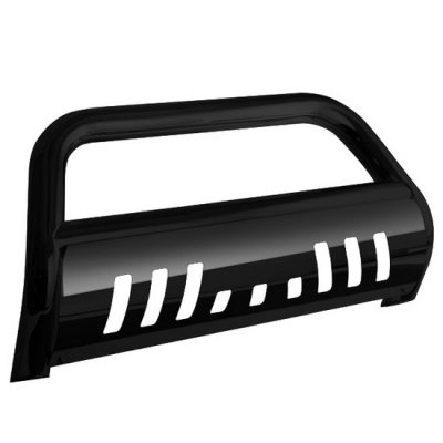 Toyota Highlander 2008-2013 Bull Bar Black Coated Steel