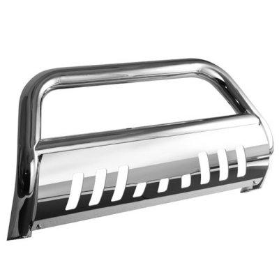 Chevy Silverado 2500HD 2007-2010 Bull Bar Stainless Steel