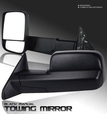 Dodge Ram 3500 2010 2012 Towing Mirrors Manual A101b8e3221 Topgearautosport