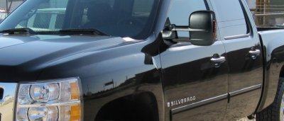 Chevy Silverado 2007 2013 Towing Mirrors Power Heated Led