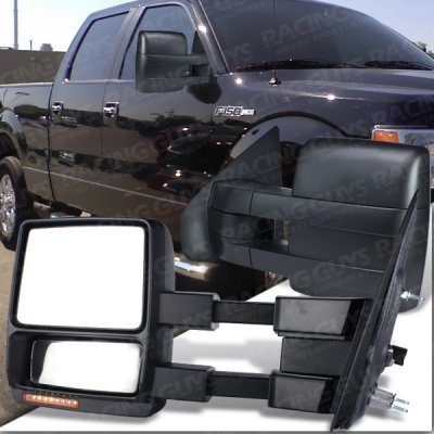 Ford F Power Heated Towing Mirrors With Led Signal Lights