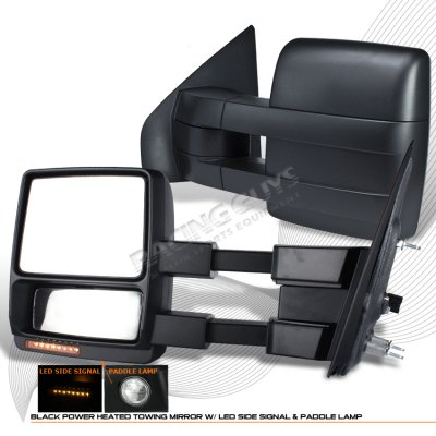 Ford F150 2007 2008 Power Heated Towing Mirrors With Led