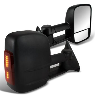 Chevy Silverado 1994-1998 Power Towing Mirrors LED Signal Lights