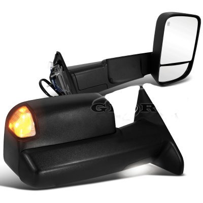 Dodge Ram 2500 2013 2015 Towing Mirrors With Power Heated And Signal