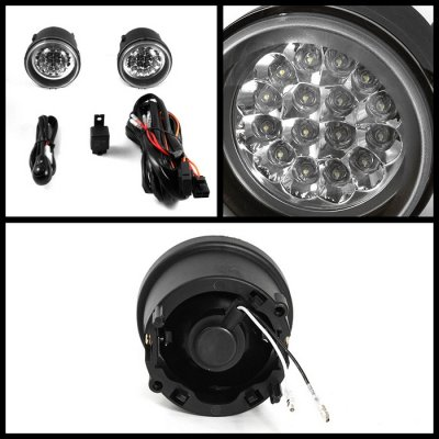 Dodge Caliber 2007 2012 Clear Led Fog Lights A103vwpb232