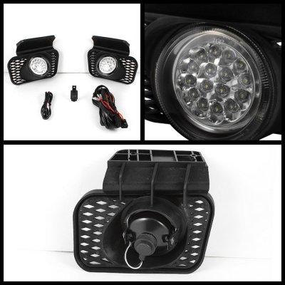 Chevy Silverado 2003-2006 Clear LED Fog Lights