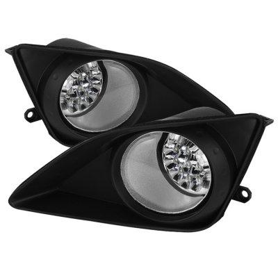 Toyota Corolla 2009-2010 Clear LED Fog Lights
