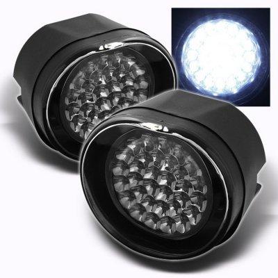Jeep Wrangler Led Headlights >> Jeep Liberty 2002-2004 Clear LED Fog Lights   A103HF46232 ...