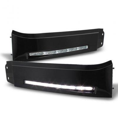 Toyota Sequoia 2008-2013 Black LED Daytime Running Lights
