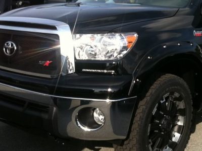 Toyota Tundra 2007 2017 Black Led Daytime Running Lights Customer Photo