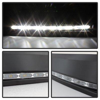 Toyota Tundra 2007-2013 Black LED Daytime Running Lights