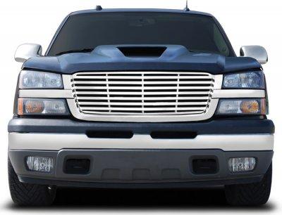 Chevy Silverado 1500 2003-2005 Chrome Grille Billet Bar Style
