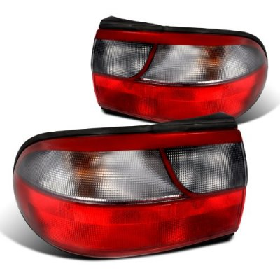 Chevy Malibu 1997 2003 Custom Tail Lights Red And Smoked A122xlmq245 Topgearautosport