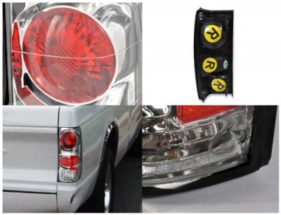 Chevy S10 1982-1993 Clear Custom Tail Lights