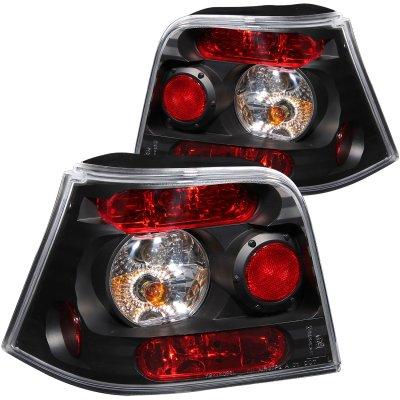 VW Golf 1999-2004 Black Custom Tail Lights