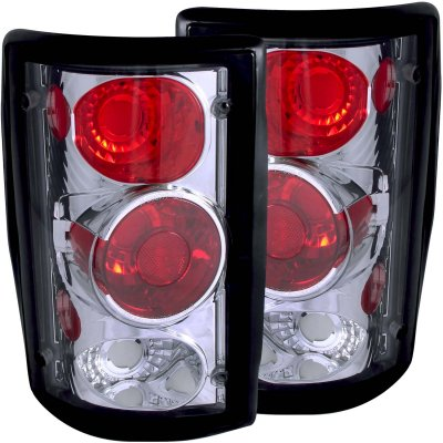Ford Excursion 2000-2005 Chrome Custom Tail Lights