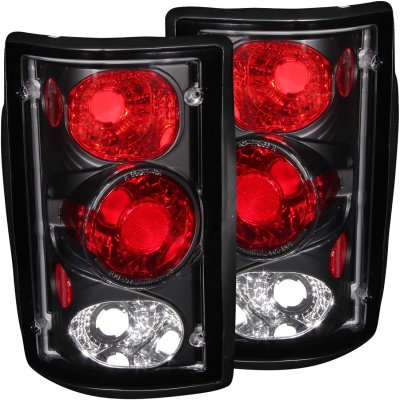 Ford Excursion 2000-2005 Black Custom Tail Lights