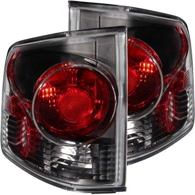 GMC Sonoma 1994-2004 Black Smoked Custom Tail Lights