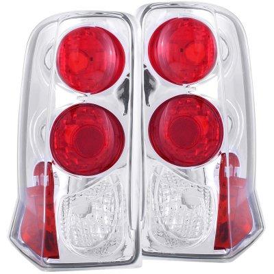 2002 Cadillac Escalade Chrome Custom Tail Lights
