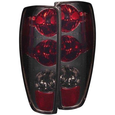 Chevy Colorado 2004 2012 Smoked Custom Tail Lights