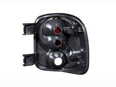 Chevy Silverado Stepside 1999-2004 Black Custom Tail Lights