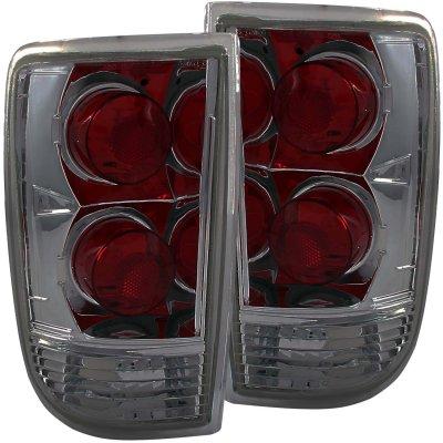 Oldsmobile Bravada 1996-2001 Smoked Custom Tail Lights