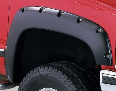 Chevy Silverado 1988-1998 Fender Flares Smooth Rivet Bolt Style