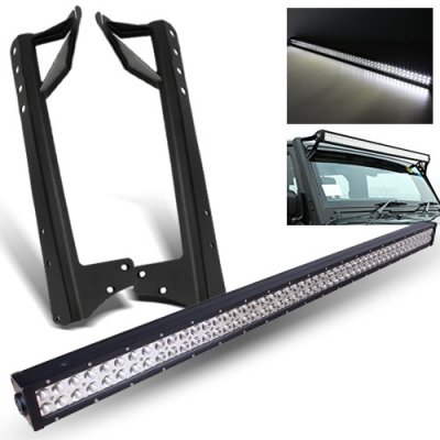 Jeep Wrangler JK 2007-2016 LED Light Bar with Mounting Brackets