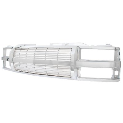 Chevy 1500 Pickup 1994-1998 Chrome Billet Grille
