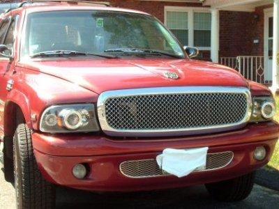Dodge Dakota 1997-2004 Front Grill Chrome Mesh