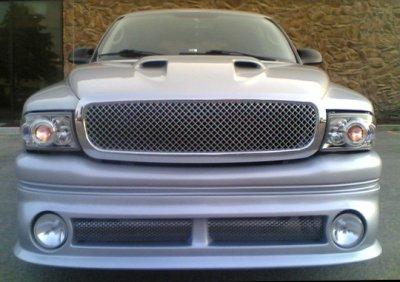 Dodge Durango 1998-2003 Front Grill Chrome Mesh