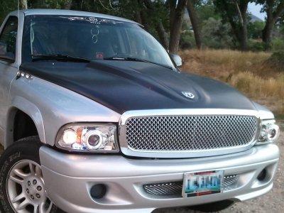 Dodge Dakota 1997 2004 Front Grill Chrome Mesh